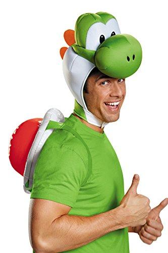 Yoshi Costume Kit - Mens Halloween Costume- Yoshi Adult Costume Kit