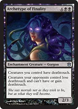 the Gathering Archetype of Finality Magic Born of the Gods 58//165