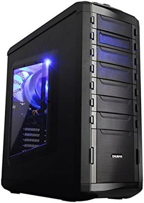 Zalman MS800 Plus Midi-Tower Negro - Caja de Ordenador (Midi-Tower, PC, Metal, Negro, ATX,Micro ATX, Juego): Amazon ...