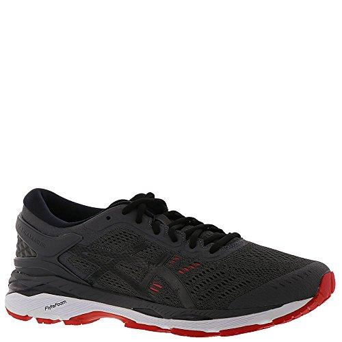 ASICS Men's Gel-Kayano 24 Running Shoe Dark Grey/Black/Fiery Red Size 11 M US