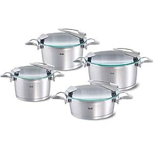 Fissler 016 120 04 000 0 bater a de cocina 4 piezas for Amazon bateria cocina