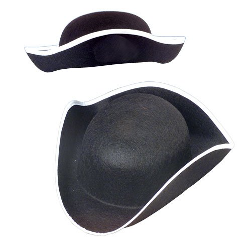 U.S. Toy Childrens Costume Accessories (Felt Tricorn Hat)