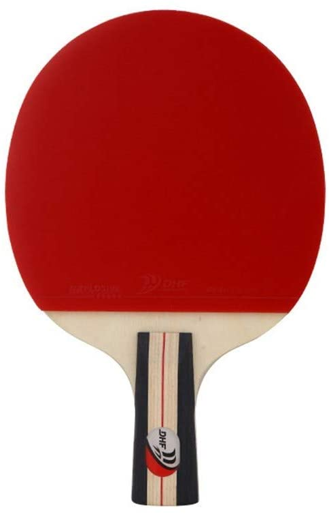 Lijincheng Paleta de Ping Pong Plano de la Raqueta de Tenis de Mesa Horizontal Fast Attack Tipo inversa de Doble Goma Artículos for Deportes