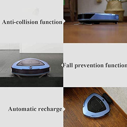 8bayfa Robot Multifonction App Robot Balayer Cleaner Charge sans Fil for Une variété de Sol