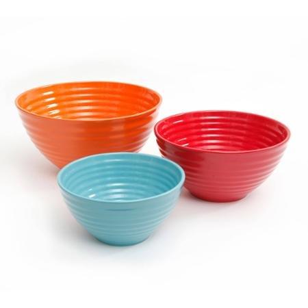 The Pioneer Woman Flea Market 3-Piece Ceramic Mix Bowls W