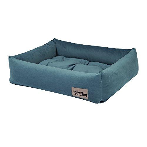 - Slumber Jax 28 x 22-Inch Dozer Dog Bed, Medium, Spa Mist