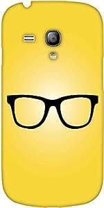 Inconformista Snoogg Gafas De Diseño Amarilla Protectora Volver Funda Para El...