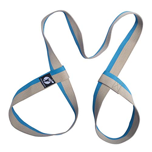FitLifestyleCo Yoga Mat Strap – Carrying Sling – Durable Cotton – 4 Colors