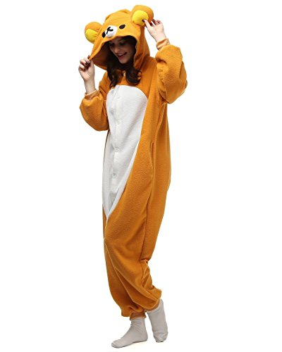 Bettertime Onesie Pajamas Animal Unisex Cosplay Kigurumi Halloween Costume (Cute Girl Halloween Costume)
