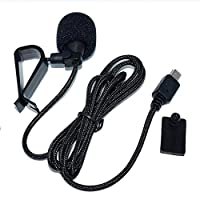 High Quality External Microphone for SOOCOO S300 Action Camera Voice Reception Recording Microphone Portable Audio Accessories & : Black