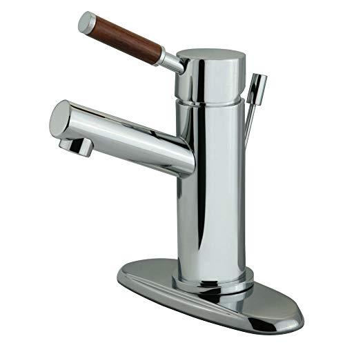 Lavatory Faucet Wellington - Kingston Brass KS8421DWL Wellington 4-Inch Centerset Lavatory Faucet Polished Chrome