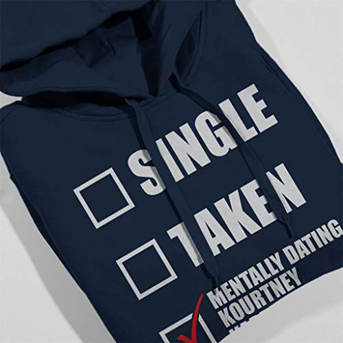 Women's Dating Blue Kourtney Hooded Coto7 Sweatshirt Mentally Kardashian Navy 4ZqvvwpB