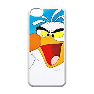 iPhone 5c Cell Phone Case White Disney The Little Mermaid Character Scuttle 001 YE3384518