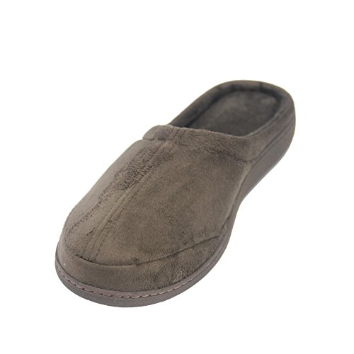 Brown Foam Slippers Gohom Indoor Velvet Women's Memory qRnwfOPY