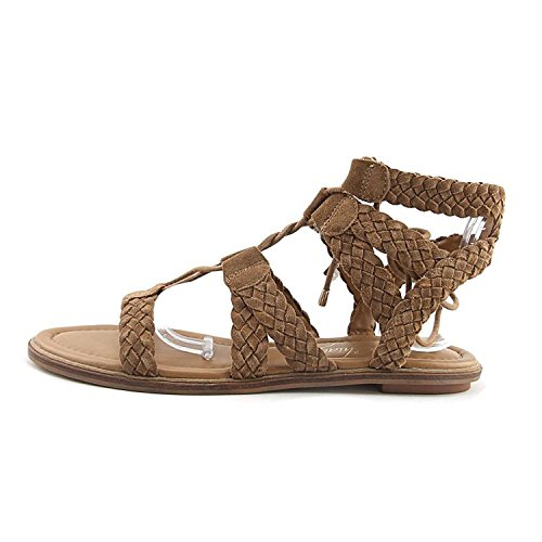 Arturo Chiang Womens Cassie Leather Open Toe Casual Strappy Sandals Macadamia at8OrY