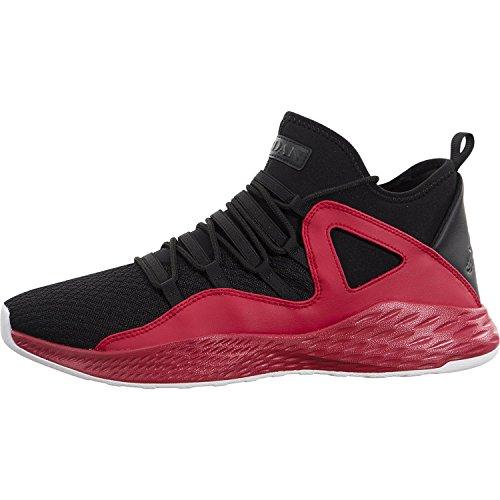 red and black jordans - 7