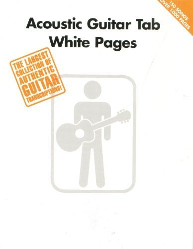 Acoustic Guitar Tab White Pages by Various (2013) Paperback