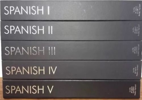Pimsleur Approach Gold Edition Latin American SPANISH I-V Level 1-5 80 CD's
