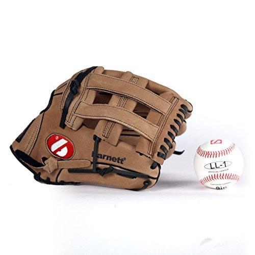 GBSL-1 Baseball Set, Handschuh & Ball, Senior, Leder (SL-127, LL-1)