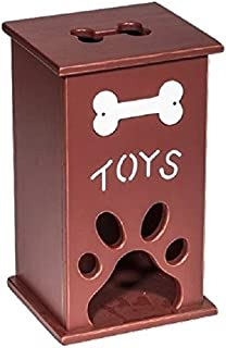 product image for Saving Shepherd Paw Print Pet Toy Storage Box USA Handmade