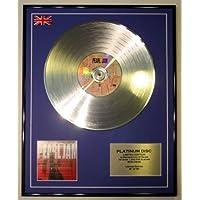 PEARL JAM/LTD Edicion CD platinum disc/TEN
