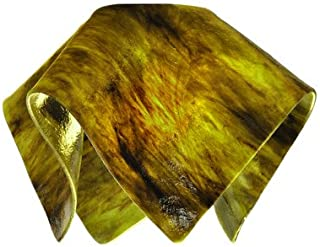 """product image for Jezebel Signature Small Flame Treebark Glass Pendant Replacement Glass Shade, 1 5/8"""" hole"""