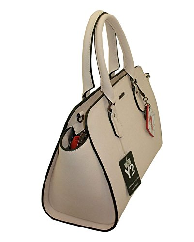 BORSA YNOT F720 NEW BAULETTO PELLE SAFFIANO LEATHER кожаная сумка BEIGE