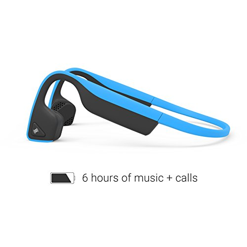 52ab498c433 AfterShokz Trekz Titanium Mini Wireless Bone Conduction Bluetooth Headphones,  Shorter Headband Size for Smaller Fit