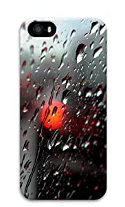 Fresh Rain Drops Hard Plastic Case for iPhone 5/5S