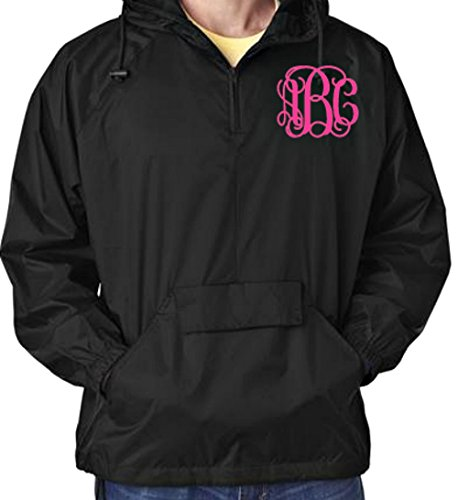 monogram rain coats for women - 2