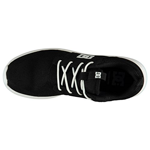 DC Shoes Midway Scarpe Nero/Bianco Casual Sneakers Calzature