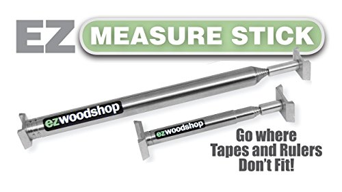 EZ Story Stick - Measuring Stick -Combo Package for Inside Measuring - Mini and Large