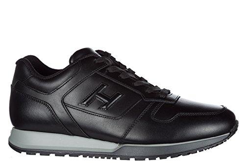 Cuoio Uomo Da Sneakers Scarpe H321 Scarpe Di 3d Hogan Nero Pm YwxIZq4xa