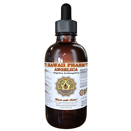 Dong Quai Liquid Extract, Organic Chinese Angelica (Angelica sinensis) Dried Root Tincture Supplement 2 oz