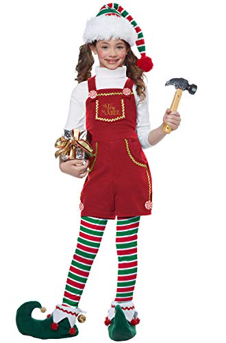 Toymaker Elf, Girl - Child Costume