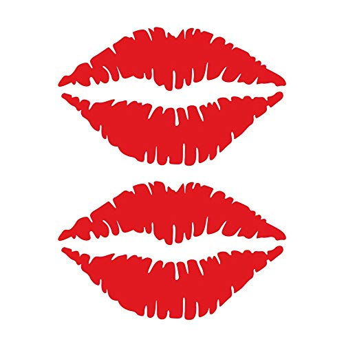 Iusun Wall Stickers Sexy Lips Pattern Window Wall Removable Art Vinyl Decal -