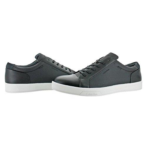 Casual Klein Embossed Sneaker Fashion Black Shoe Athletic Barrington Calvin Men's 4ASxnwIqq