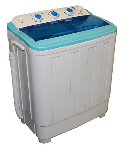 Mini lavadora Lavado goteo con ropa centrifugado carga superior ...