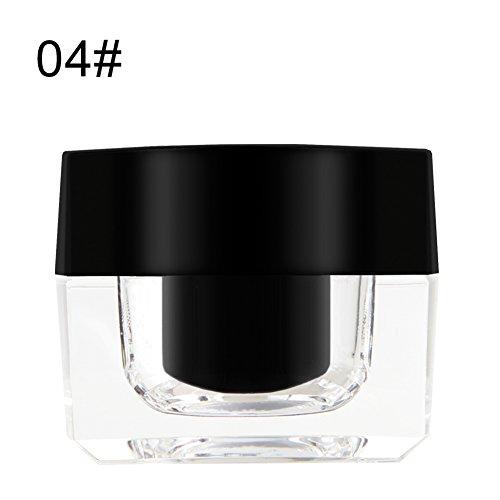 Cocohot Caffee Brown Black Eyebrow Gel Silky Pigmented Formula, Waterproof, Sweatproof Eye Makeup Cosmetics (Black)