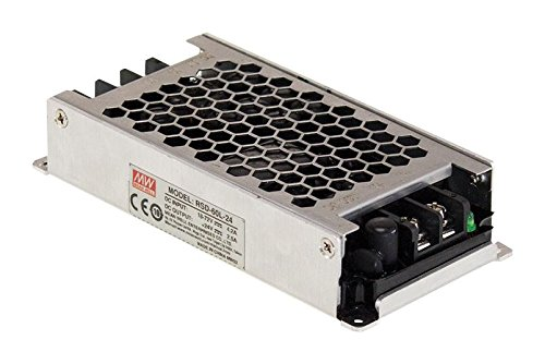 MEAN WELL RSD-60H-24 RSD-60 Series 60 W 40 to 160 Vin 24 Vout 2.5 A Enclosed Railway DC/DC Converter - 1 item(s)