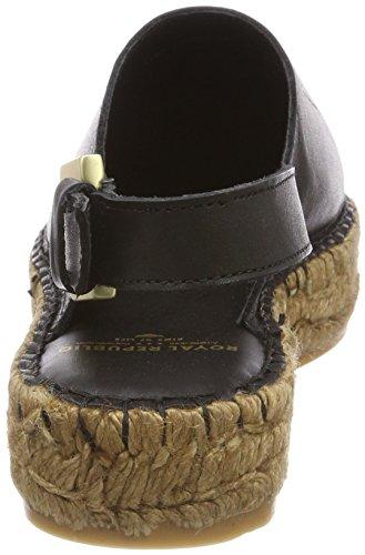 Blk Black RepubliQ Royal Closed Sandals Mule Toe Wayfarer Black Women's TZqqI1wF
