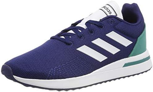 Adidas Run70S, Zapatillas de Running para Hombre, Azul (Dark Blue/FTWR White/Active Green Dark Blue/FTWR White/Active Green), 42 EU: Amazon.es: Zapatos y complementos