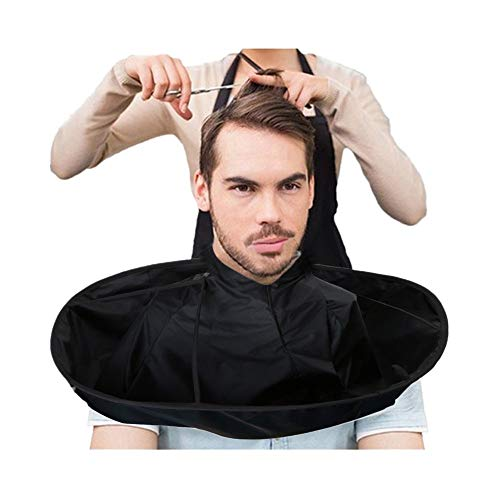 Muranba 2019 ! DIY Hair Cutting Cloak Umbrella Cape Salon Barber Salon and Home Stylists Using Black
