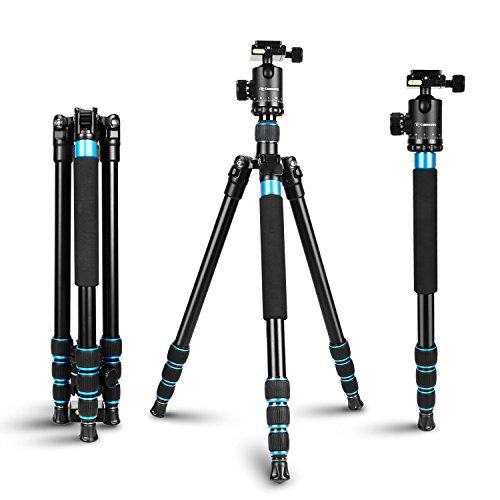 Camera Tripod - Camopro 63 inches Aluminum Alloy Tripod Mono