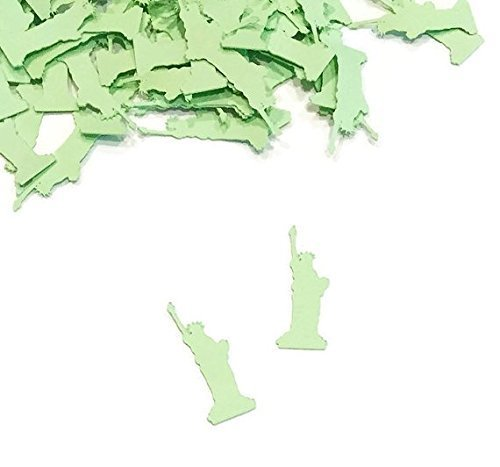 Statue of Liberty Confetti | Urban Party Theme Decor | Independence Day | Fourth of July | New York Party | City Wedding Decor | Veteran Day