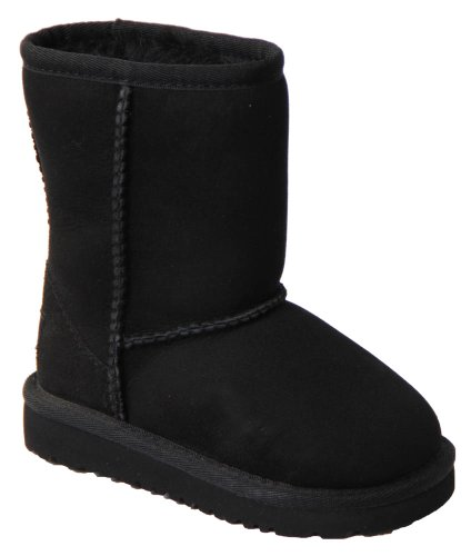 UGG Kids' Classic Short-K, Black, 9 M US Toddler for sale  Delivered anywhere in USA