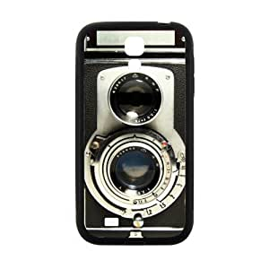 SamSung Galaxy S4 I9500 Protective Case - Retro Vintage Camera TPU(Laser Technology) Hardshell Cell Phone Cover Case for New SamSung Galaxy S4 I9500