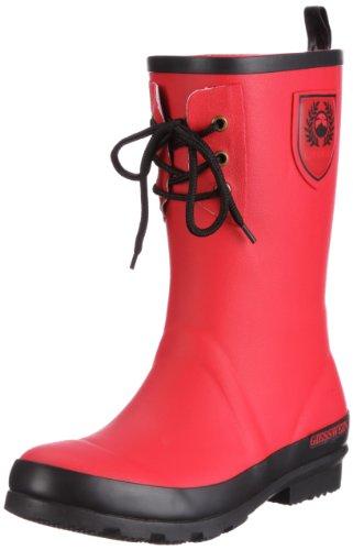 Giesswein Wain 57/10/41027 - Botas de caucho para mujer Rojo
