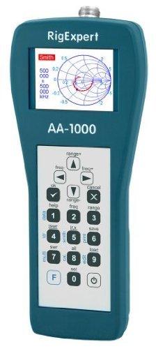 RigExpert AA-1000 HF/VHF Antenna Analyzer (0.1-1000MHz)