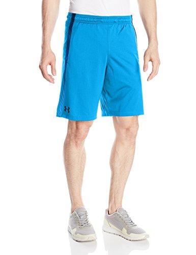 Under Armour Men's Tech Mesh Shorts, Electric Blue/Black, Medium